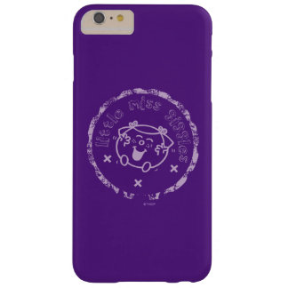 Little Miss Giggles | Vintage Design Barely There iPhone 6 Plus Case