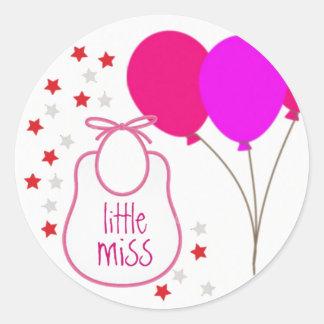 Little Miss (It's a Girl) Sticker