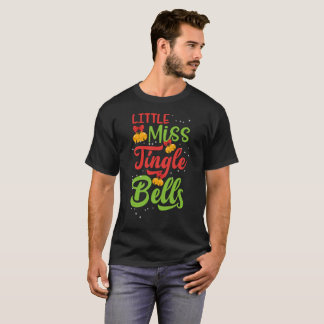 Little Miss Jingle Bells Gift Tee