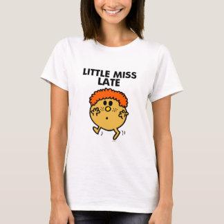 Little Miss Late | Black Lettering T-Shirt