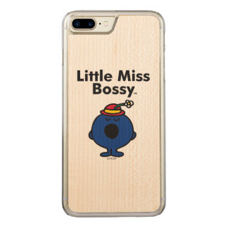 Little Miss | Little Miss Bossy is So Bossy Carved iPhone 8 Plus/7 Plus Case