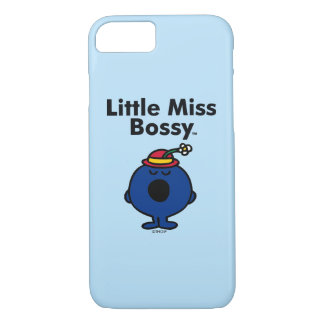 Little Miss | Little Miss Bossy is So Bossy iPhone 8/7 Case