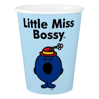 Little Miss | Little Miss Bossy is So Bossy Paper Cup