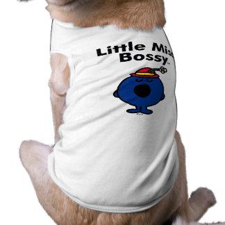 Little Miss   Little Miss Bossy is So Bossy Pet T Shirt