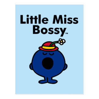 Little Miss | Little Miss Bossy is So Bossy Postcard
