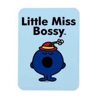 Little Miss | Little Miss Bossy is So Bossy Rectangular Photo Magnet