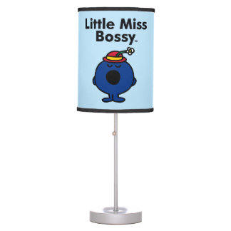 Little Miss | Little Miss Bossy is So Bossy Table Lamp