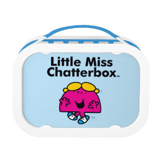 Little Miss | Little Miss Chatterbox is So Chatty Lunch Box
