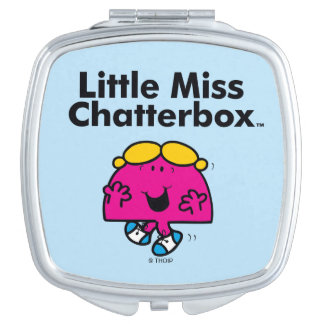 Little Miss | Little Miss Chatterbox is So Chatty Makeup Mirror