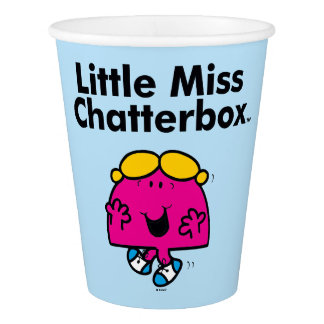 Little Miss | Little Miss Chatterbox is So Chatty Paper Cup