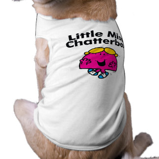 Little Miss   Little Miss Chatterbox is So Chatty Pet Clothes