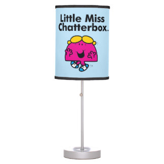 Little Miss | Little Miss Chatterbox is So Chatty Table Lamp