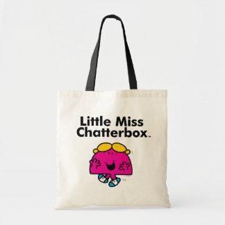 Little Miss | Little Miss Chatterbox is So Chatty Tote Bag