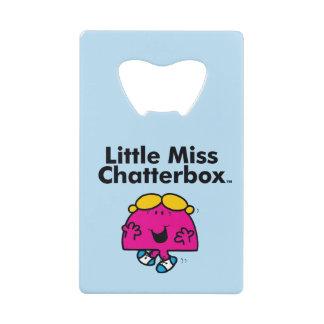 Little Miss | Little Miss Chatterbox is So Chatty Wallet Bottle Opener