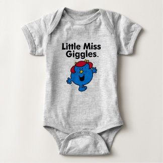Little Miss | Little Miss Giggles Likes To Laugh Baby Bodysuit