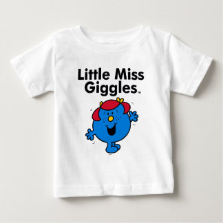 Little Miss | Little Miss Giggles Likes To Laugh Baby T-Shirt