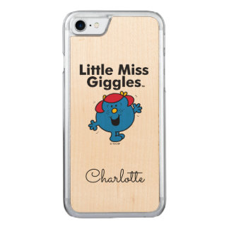 Little Miss | Little Miss Giggles Likes To Laugh Carved iPhone 8/7 Case