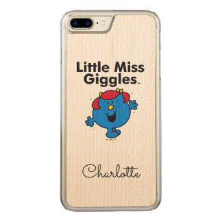 Little Miss | Little Miss Giggles Likes To Laugh Carved iPhone 8 Plus/7 Plus Case
