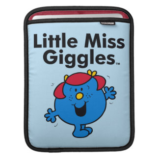Little Miss | Little Miss Giggles Likes To Laugh iPad Sleeve