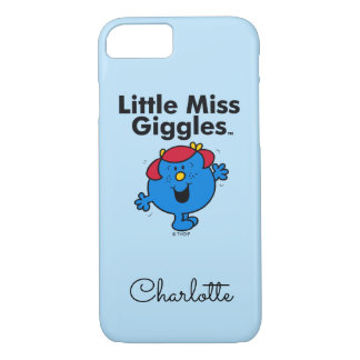 Little Miss | Little Miss Giggles Likes To Laugh iPhone 8/7 Case