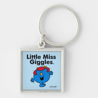 Little Miss   Little Miss Giggles Likes To Laugh Keychain