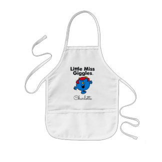Little Miss | Little Miss Giggles Likes To Laugh Kids Apron