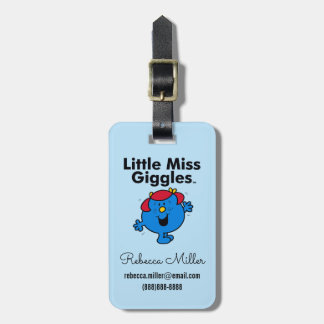Little Miss | Little Miss Giggles Likes To Laugh Luggage Tag