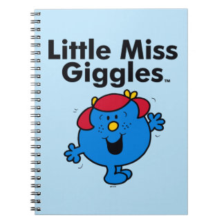 Little Miss | Little Miss Giggles Likes To Laugh Notebook