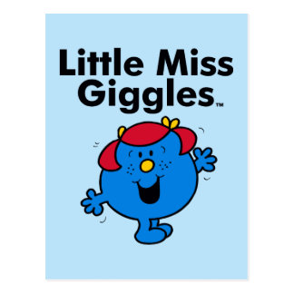 Little Miss | Little Miss Giggles Likes To Laugh Postcard