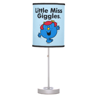 Little Miss | Little Miss Giggles Likes To Laugh Table Lamp