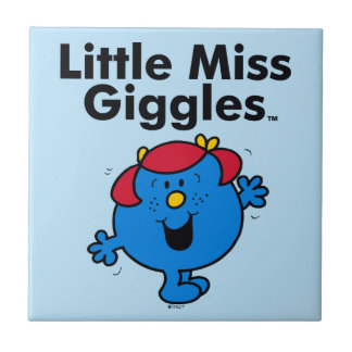 Little Miss   Little Miss Giggles Likes To Laugh Tile