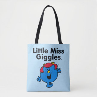 Little Miss | Little Miss Giggles Likes To Laugh Tote Bag