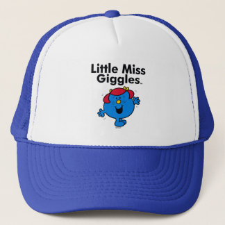 Little Miss | Little Miss Giggles Likes To Laugh Trucker Hat