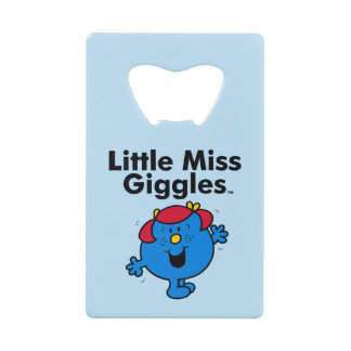 Little Miss | Little Miss Giggles Likes To Laugh Wallet Bottle Opener