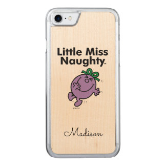 Little Miss | Little Miss Naughty is So Naughty Carved iPhone 7 Case