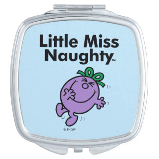 Little Miss | Little Miss Naughty is So Naughty Compact Mirror