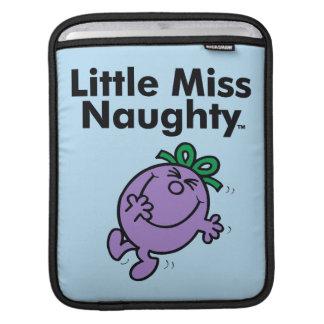 Little Miss | Little Miss Naughty is So Naughty iPad Sleeve