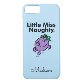 Little Miss | Little Miss Naughty is So Naughty iPhone 8/7 Case