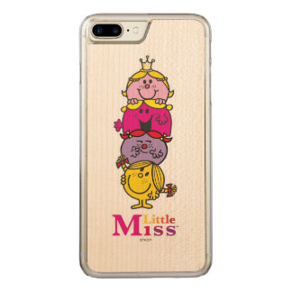 Little Miss | Little Miss Standing Tall Carved iPhone 8 Plus/7 Plus Case