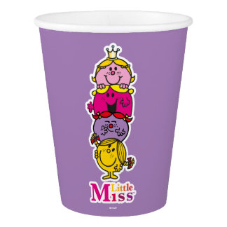 Little Miss | Little Miss Standing Tall Paper Cup