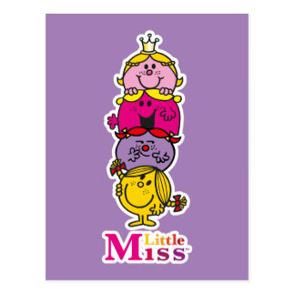 Little Miss | Little Miss Standing Tall Postcard