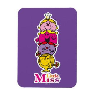 Little Miss | Little Miss Standing Tall Rectangular Photo Magnet