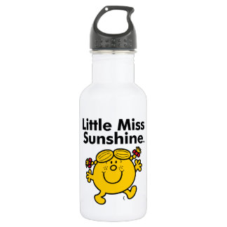 Little Miss | Little Miss Sunshine is a Ray of Sun 532 Ml Water Bottle