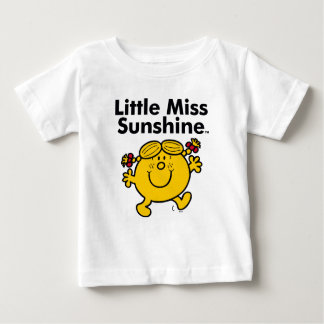 Little Miss | Little Miss Sunshine is a Ray of Sun Baby T-Shirt