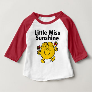 Little Miss | Little Miss Sunshine is a Ray of Sun Baby T-Shirt