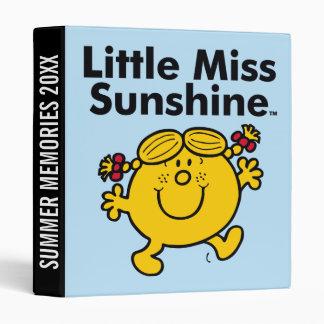 Little Miss | Little Miss Sunshine is a Ray of Sun Binder