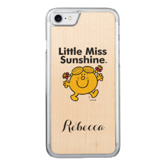 Little Miss | Little Miss Sunshine is a Ray of Sun Carved iPhone 8/7 Case