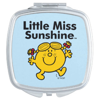 Little Miss | Little Miss Sunshine is a Ray of Sun Compact Mirror