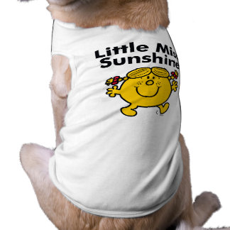 Little Miss | Little Miss Sunshine is a Ray of Sun Dog Clothes