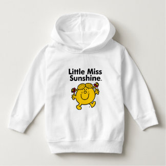 Little Miss | Little Miss Sunshine is a Ray of Sun Hoodie